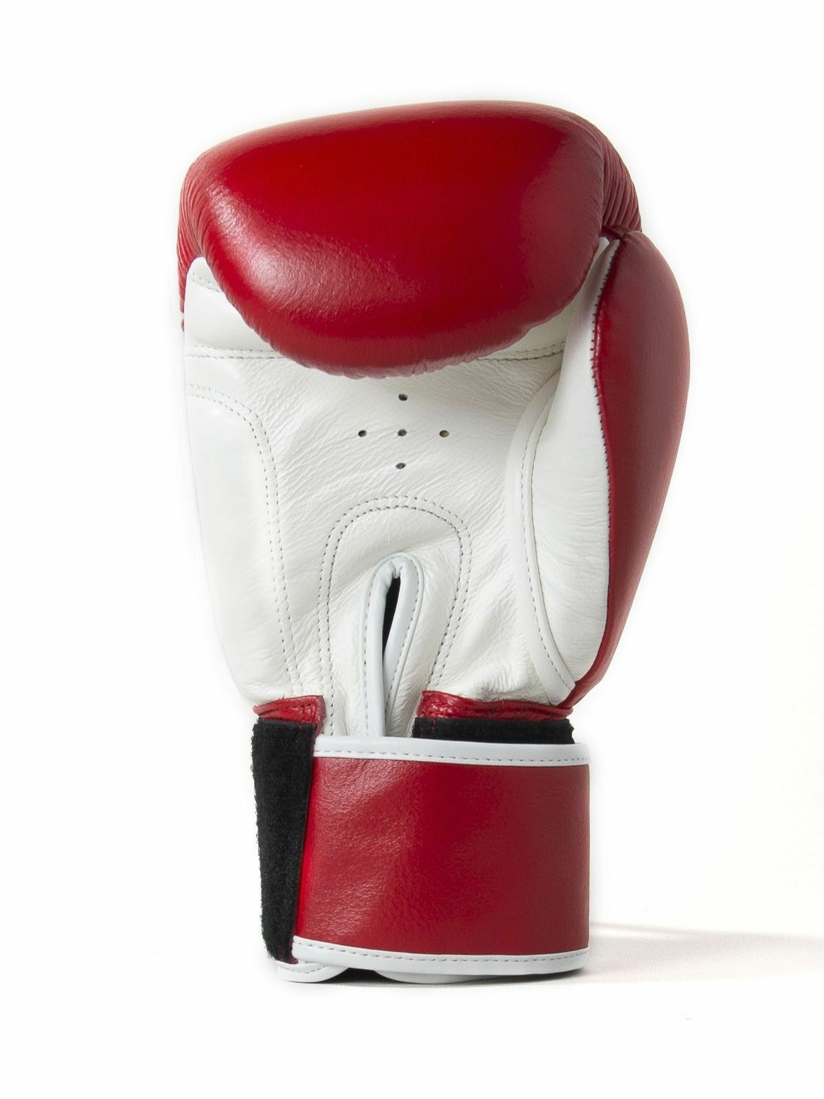 Sandee Authentic Muay Thai ROT & Weiß Sparring Leder Boxing Gloves Sparring Weiß af16b5