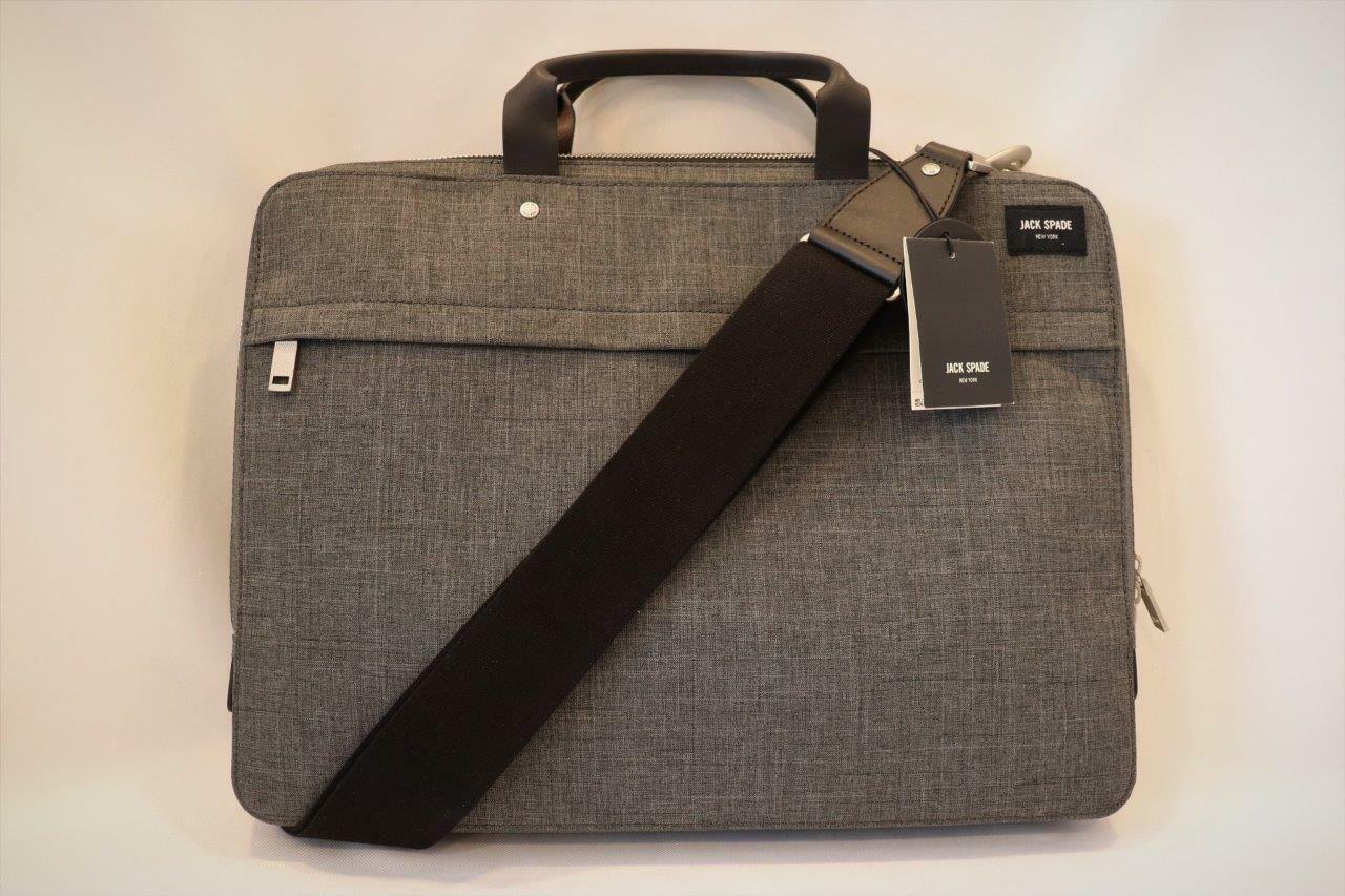 Jack Spade Tech Oxford Slim Nyru1352 Briefcase Navy One Size for
