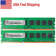 US 16GB kit 2x8GB PC3-12800 DDR3-1600 240-PIN DIMM Desktop Memory Low Density