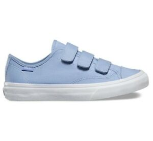 016103d8cf Image is loading VANS-Prison-Issue-Canvas-Suede-Serenity-Blue-WOMEN-