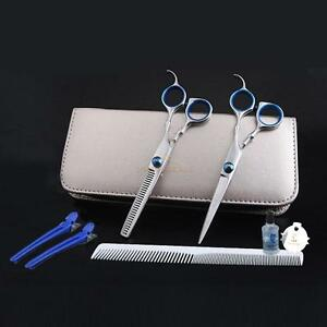 Pro-Hair-Cutting-Regular-Thinning-Scissors-Shears-Barber-Salon-Hairdressing-Set