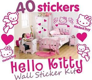 Hello Kitty Wall Stickers Uk