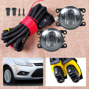 pair fog light lamp wiring harness sockets connector for ford focus ford focus fog light wiring harness image is loading pair fog light lamp wiring harness sockets connector
