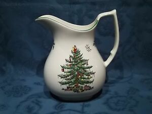 Spode Christmas Tree Large Jug  Pitcher - <span itemprop=availableAtOrFrom>WOLVERHAMPTON, West Midlands, United Kingdom</span> - Returns are accepted on the following basis. If an item is not as described, then it can be returned and return postage will be refunded. It you want to return an ite - WOLVERHAMPTON, West Midlands, United Kingdom