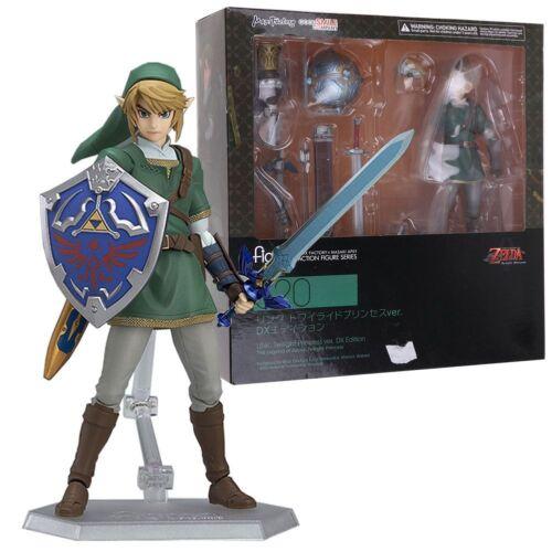 The Legend of Zelda Link Twilight Princess /& Majora Mask Figure Toy Xmas Gift