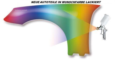 VW Polo 6N2 Kotflügel Neu Wunschfarbe Lackiert vorn Rechts//Links 99-01 Schweller