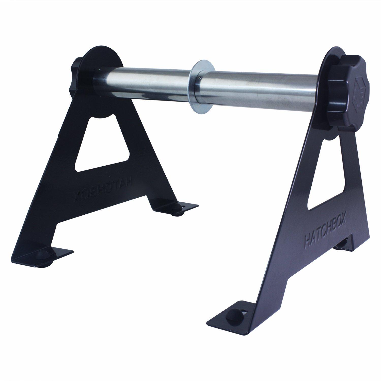 Hatchbox 2 Spool 3D Printer Filament Tabletop Wall Mount Rack