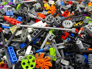 LEGO Technic 1 KG Mixed Bundle Bricks Pins Axles Bushes Parts Bulk