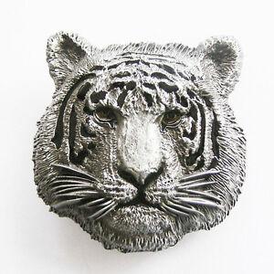 Hommes-boucle-tigre-western-animal-boucle-de-ceinture-Gurtelschnalle-Boucle-de-ceinture