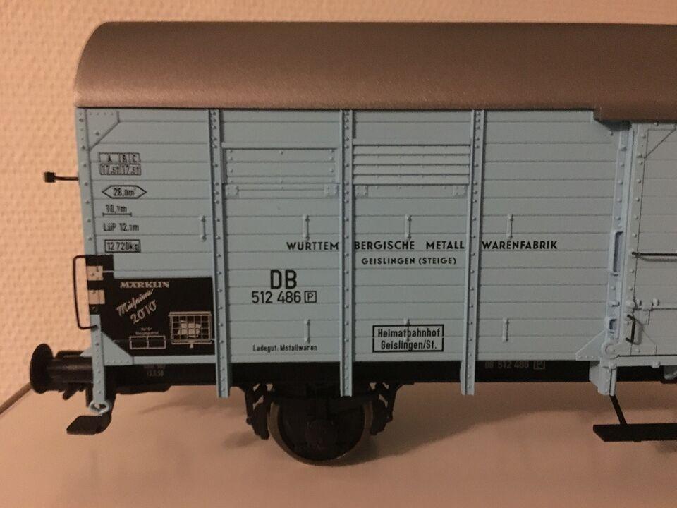 Modeltog, Märklin 58682 Museumsvogn, skala 1