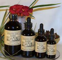 White Oak Bark Tincture Liquid Extract Digestive Skin Stomach Health Organic