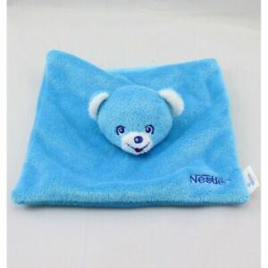 Doudou-plat-ours-bleu-NESTLE-Ours-Plat-Semi-plat