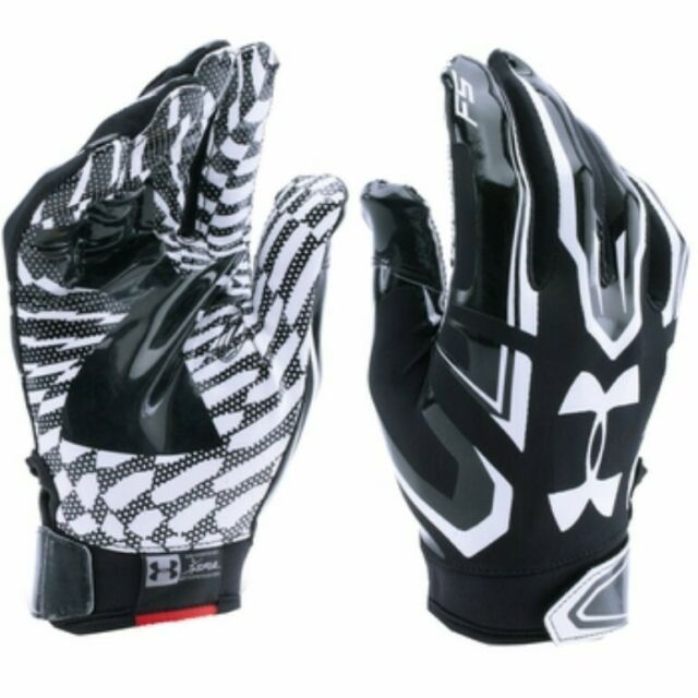 Under Armour YOUTH F5 Receiver Gloves Black Youth Small