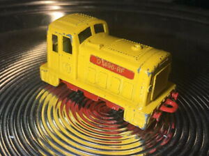 Matchbox-Railway-Eisenbahn-Lesney-No-24-Shunter-D-1496-RF-Lok-Lokomotive-Zug