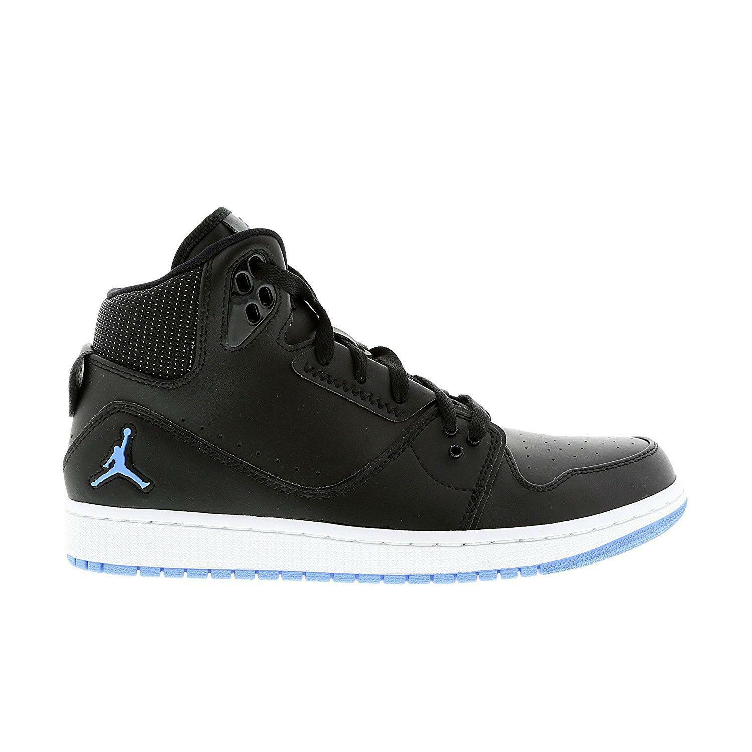 The most popular shoes for men and women Mens Nike Air Jordan 1 Flight 2 555798 042 Black Basketball Trainers