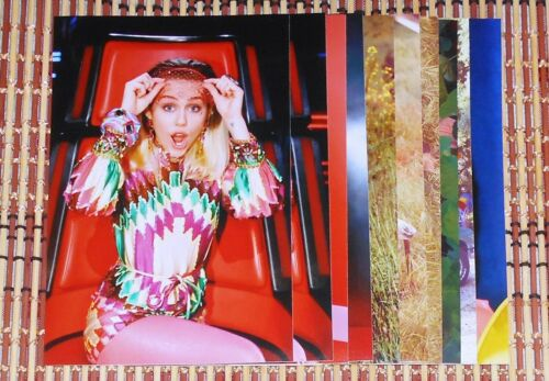 Miley Cyrus 4x6 Photo Set Top 10 Photos HQ  # 80