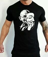 Anonymous Anarchy T-Shirt V For Vendetta Disobey Order T-shirt Gandhi