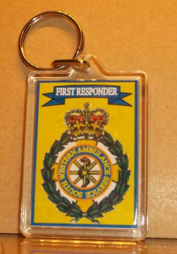 South Western Ambulance Service key ring..