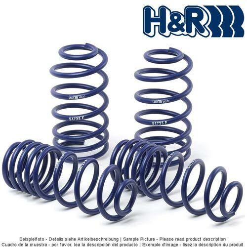 H/&R lowering springs 29073-2 for Skoda Fabia  40//40mm