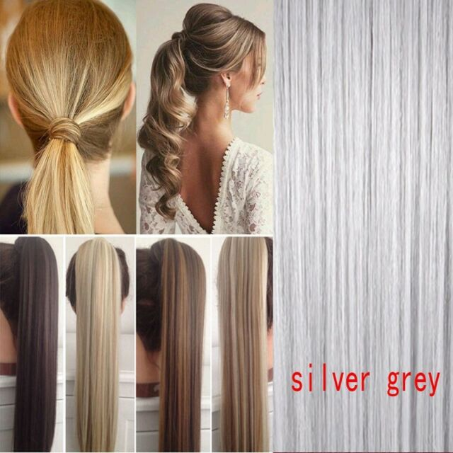 Whitesilver Hair Pieces Collection On Ebay