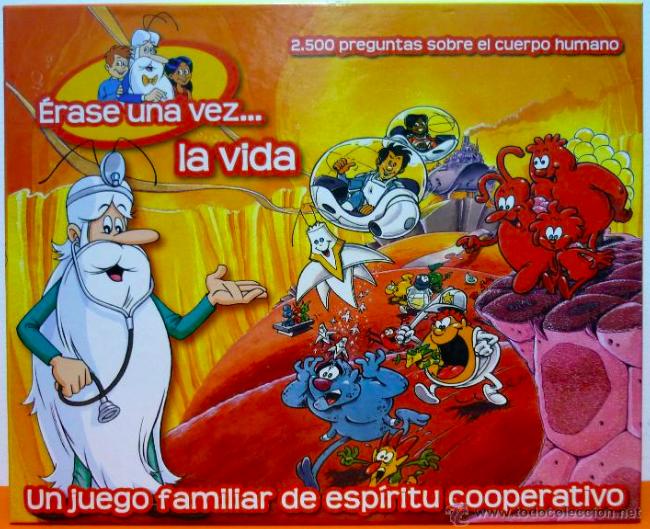 IT WAS ONCE A LIFE   Erase una vez la vida  Spanish Board Game NEW sealed