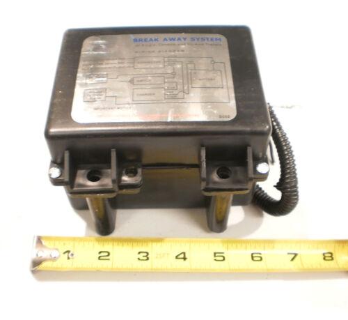 Trailer Breakaway Battery Brake Kit 12V Charger /& Switch Electric Break Away