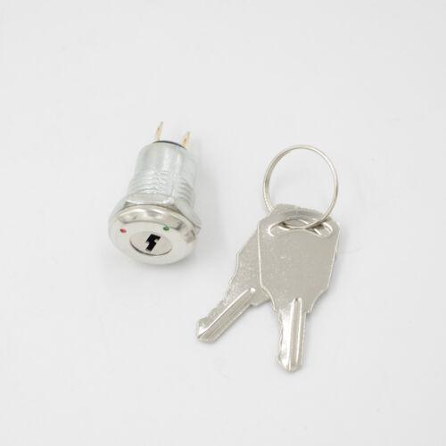 New Key Switch ON//OFF Lock KS-02 KS02 Electronic With Keys*-*