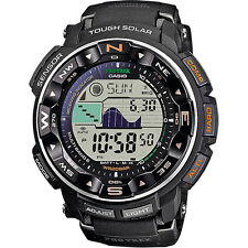 """Brand New Casio Men's PRW2500-1 """"Pathfinder"""" Tough Solar Digital Watch"""