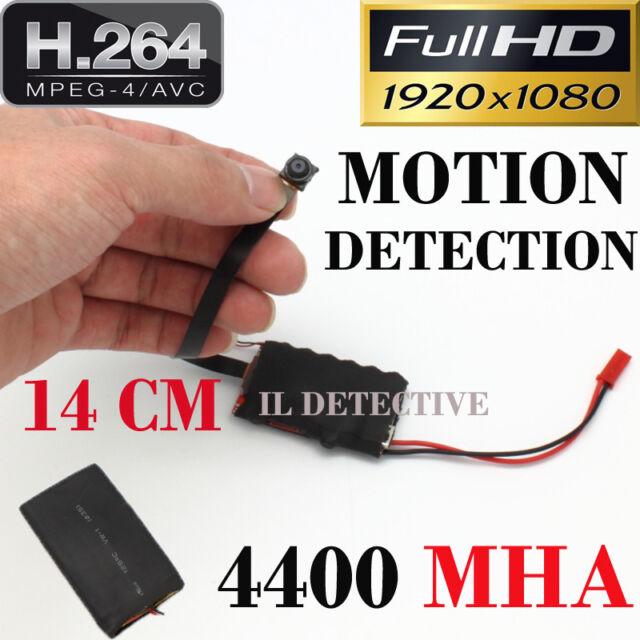 Spy Camera Spia FULL HD MOTION DETECTION TELECAMERA  NASCOSTA MICROCAMERA kit