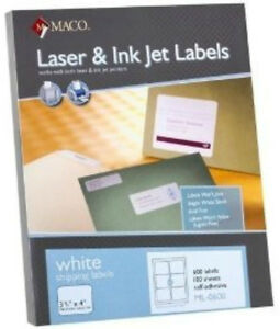 Maco-ML-0600-Shipping-Labels-3-3-034-x-4-034-6-to-The-Page-6000-Labels