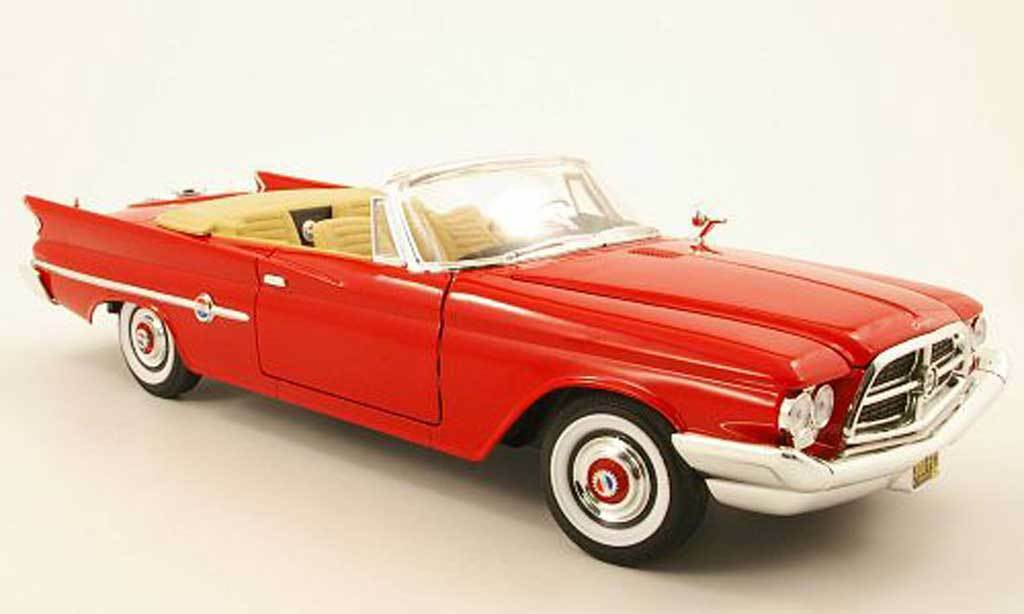 CHRYSLER 300F 1960 RED CONgreenIBLE YATMING 92748 1 18 1 18 CABRIOLET red red
