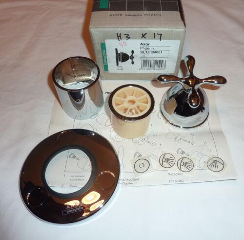 Hansgrohe 17894001 Axor Phoenix Trim Shower Diverter w// Cross Handle CHROME