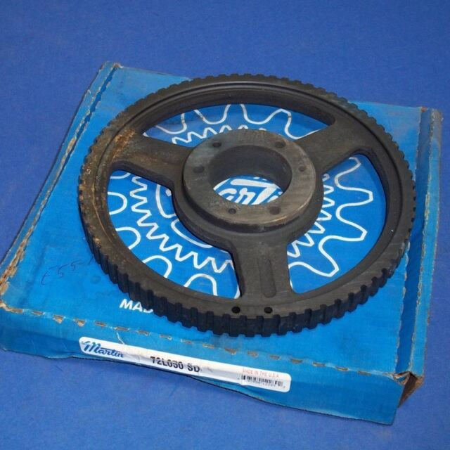 """MARTIN 3//8/"""" PITCH 1//2/"""" WIDE BELTS G-3 STYLE TIMING PULLEY 72L050 SD *NEW* *WKS*"""