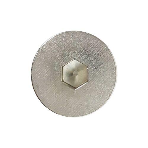 "1//2-13 x 1/"" Flat Head Socket Cap Screws Allen Drive Stainless Steel Qty 25"