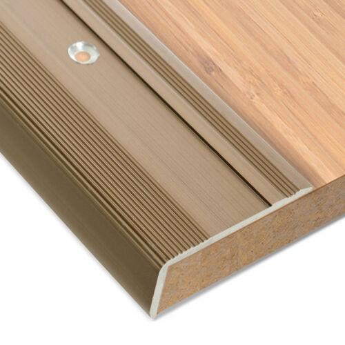 1A L-Form hell bronze Treppenkante Treppenwinkel Treppenprofil Kantenschutz Neu
