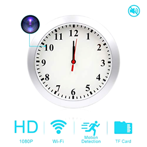 HD-1080P-WiFi-Camera-Wall-Clock-Motion-Detection-Security-Remote-Video-Recorder