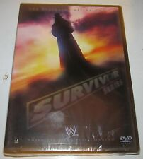 WWE Survivor Series 2005 NEW DVD Ric Flair Undertaker Chris Benoit John Cena