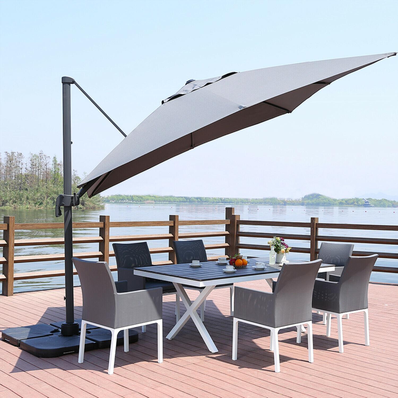10 Feet Offset Cantilever Umbrella