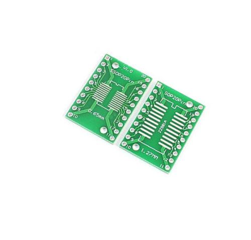 SOP8~48 SSOP8~18 TSSOP4~48 to DIP8~48 PCB Board Adapter Plate 0.65//1.27//2.54mm