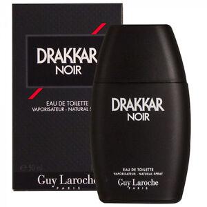 Drakkar Noir For Men 50ml Eau De Toilette Spray BRAND NEW IN BOX