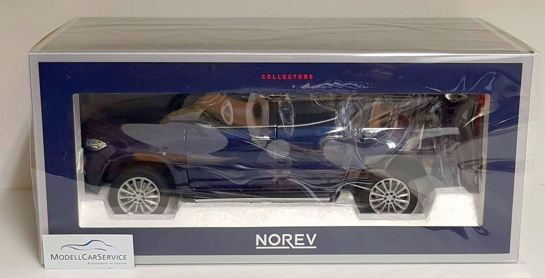 Norev 1 18  183421 mercedes-benz X-clase pick-up (2018) - azul metallic