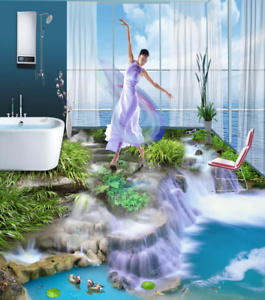 3D Great Falls View 455 Floor WallPaper Murals Wall Print Decal AJ WALLPAPER CA