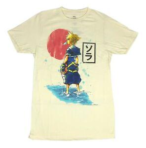Disney-Kingdom-Hearts-Sora-Portrait-Video-Game-RPG-Mens-T-Shirt-XS-2XL
