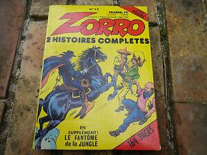 ZORRO-COULEUR-n-13-DPE-SFPI-edition-1981-tres-bon-etat-comme-neuf