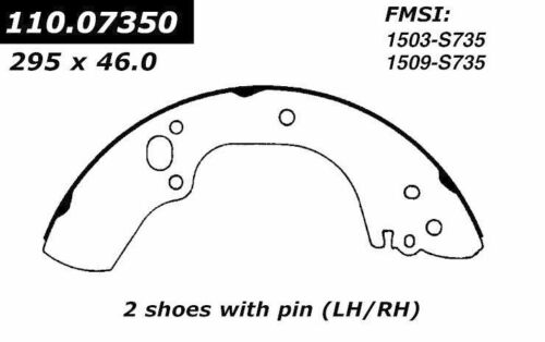 BRAND NEW FDP REAR BRAKE SHOES 735 FITS VEHICLES LISTED ON CHART