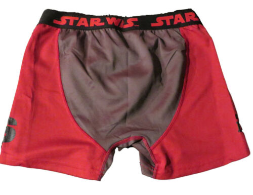 STAR WARS THE POWER OF DARK RED BOXER BRIEFS LARGE
