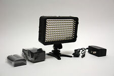 Pro 4K 1 AC/DC LED on camera video light F570 for Panasonic GH4 GH3 FZ1000