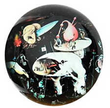 Hieronymus Bosch Tree Man Garden of Earthly Delights Fantasy Glass Paperweight