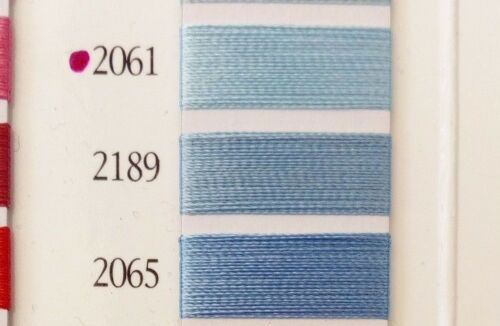Marathon Embroidery Machine Thread-Polyester 5000M Blue,Navy