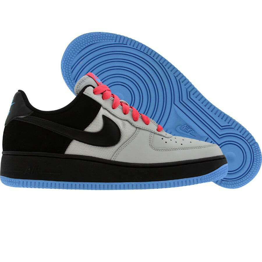 Nike Air Force 1 '07 Grey Black bluee Flamingo 3.5 - 5.5